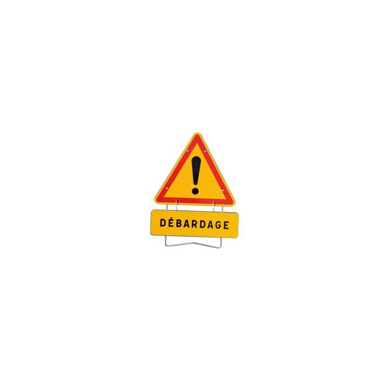 "panneau de signalisation AK14 ""DEBARDAGE"""
