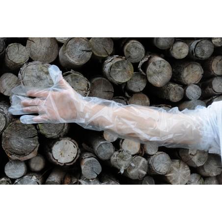 gants jetables pour vider le gibier