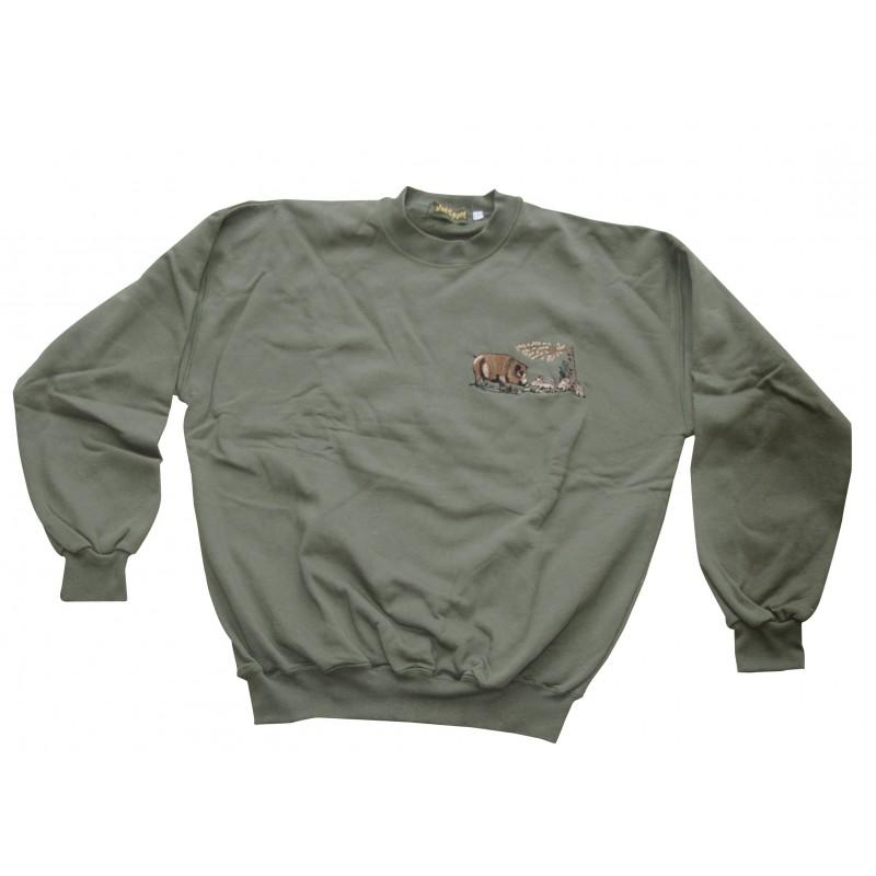 sweat shirt chasse