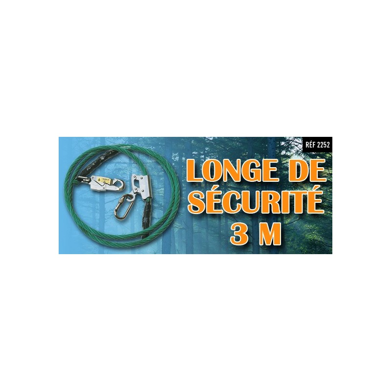 longe de sécurité 5m