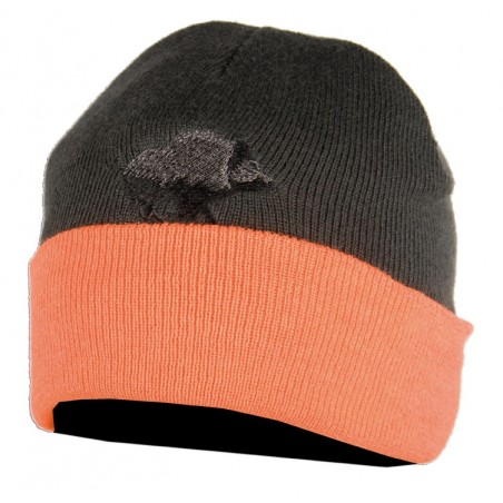bonnet reversible orange