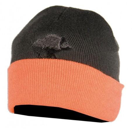 bonnet reversible orange