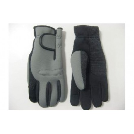 gants néoprène vert