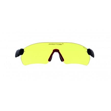 lunettes jaunes pour casque...