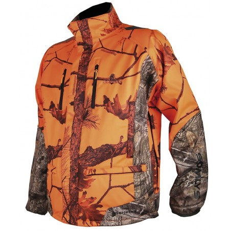 veste de chasse softshell camo somlys