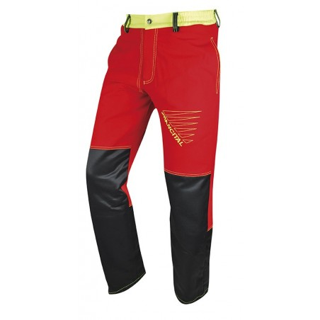 pantalon anti-coupures PRIOR MOVE classe 1 rouge