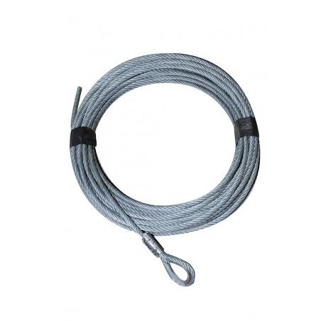 Câble acier en couronne