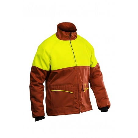 Veste anti-coupures PRIOR rouge
