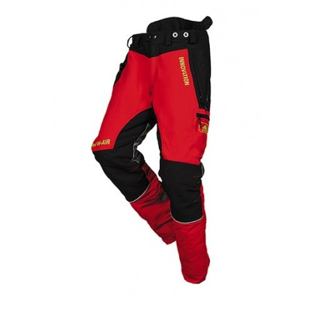 PANTALON FOREST W-AIR ROUGE...