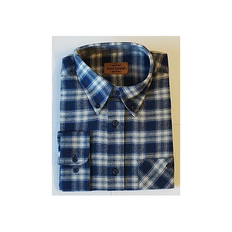 CHEMISE ANDES BLEUE