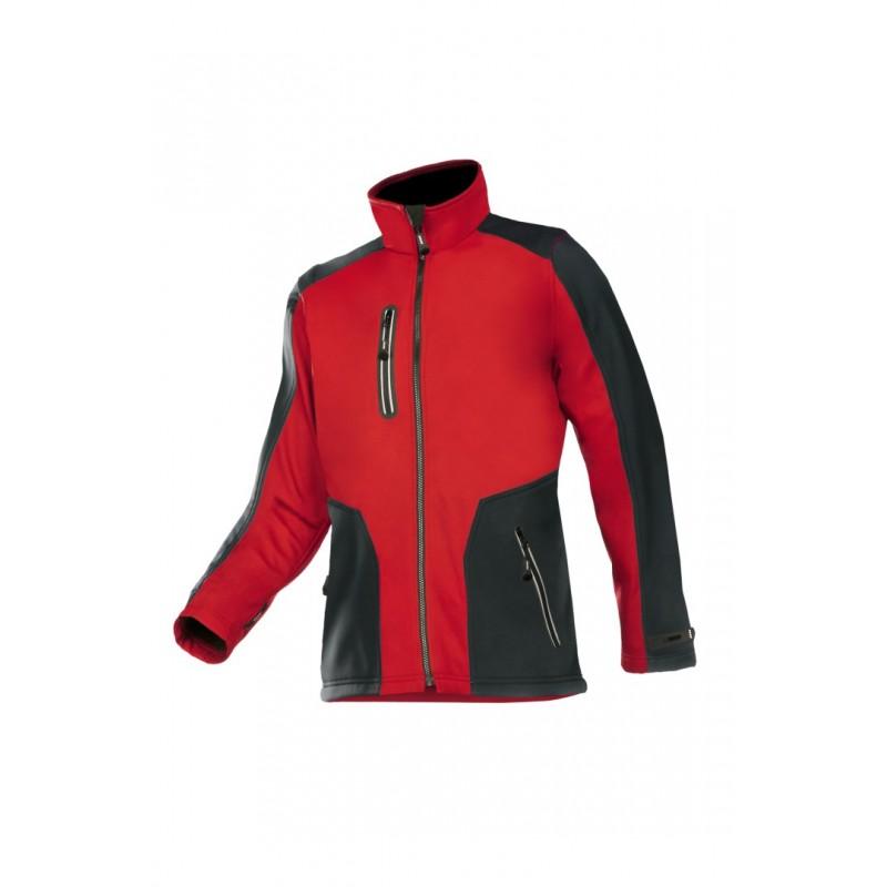 veste softshell rouge TORREON SIOEN