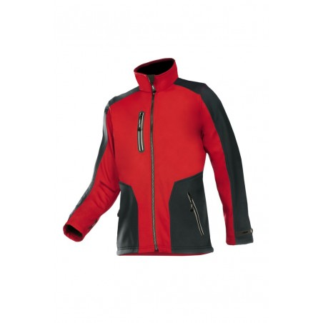 veste softshell rouge TORREON SIOEN