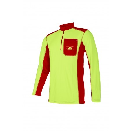 Sweat shirt 697A jaune
