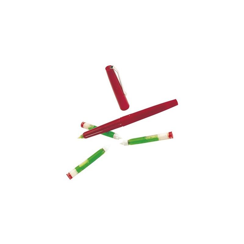 cartouche verte pour stylo à l'acide