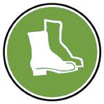 Equipement forestier de protection pour les pieds